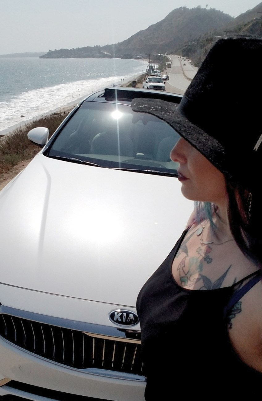PCH from Los Angeles to Santa Barbara, christa thompson, kia cadenza, solo travel