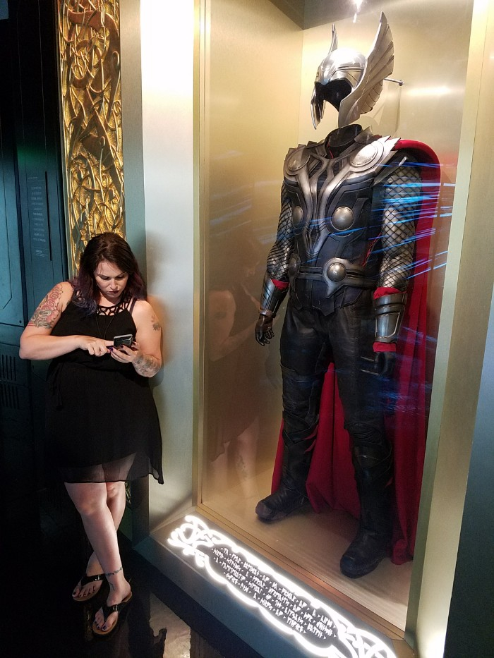 Marvel Avengers STATION Las Vegas review, Christa Thompson