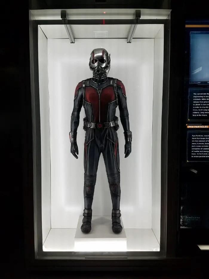 Marvel Avengers STATION Las Vegas review, Ant-Man costume