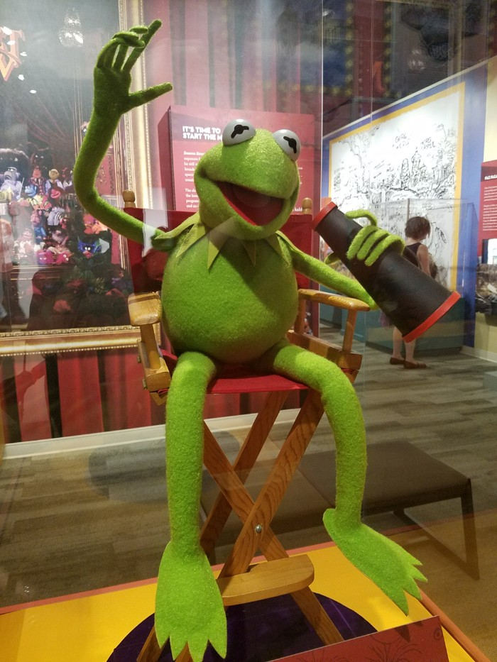 Geeky things to do in Atlanta, Center for Puppetry Arts, Kermit