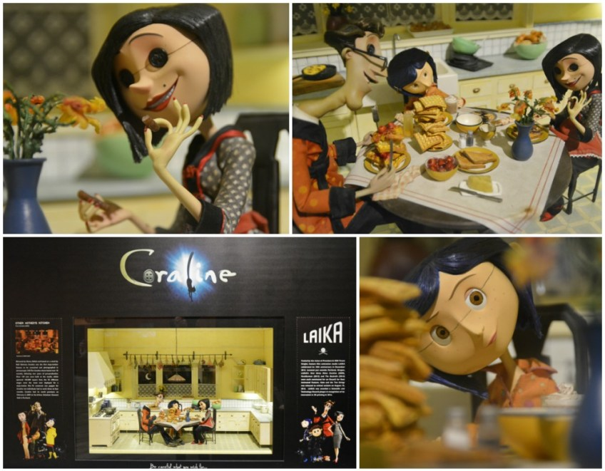 Geeky things to do in Atlanta, Center for Puppetry Arts, Coraline Figures