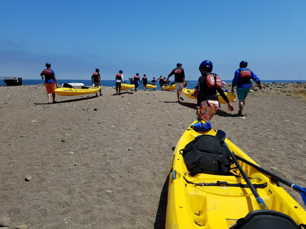 Kayaking Channel Islands National Park