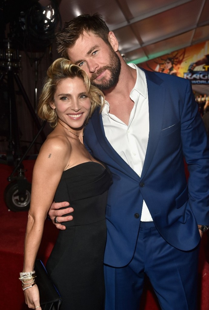 Thor: Ragnarok LA Premiere, Chris Hemsworth and Elsa
