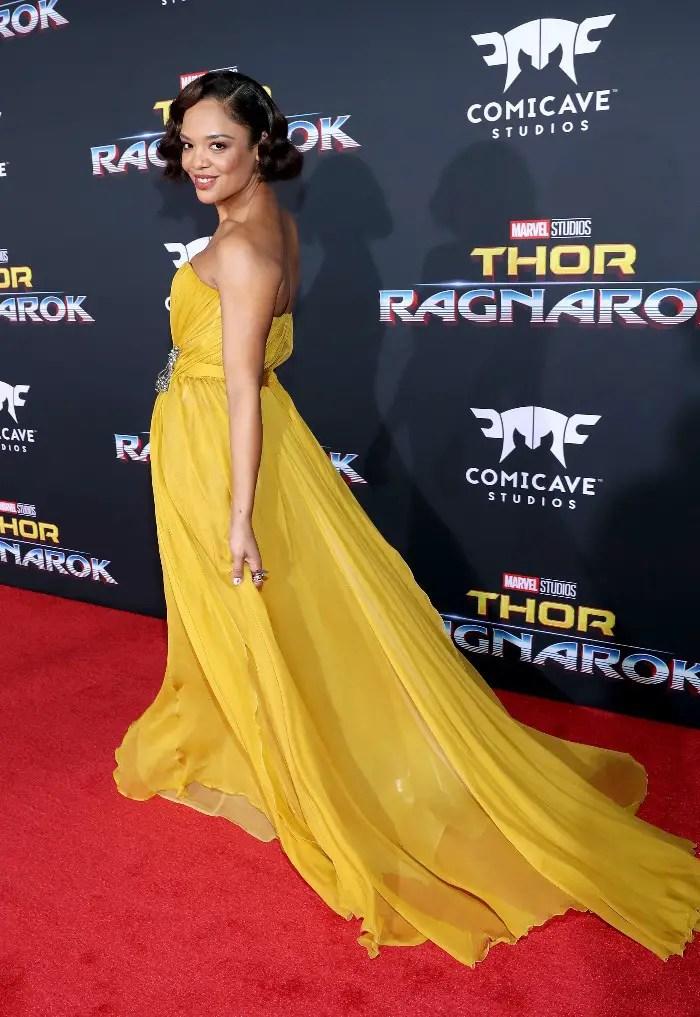 Thor: Ragnarok LA Premiere, Tessa Thompson