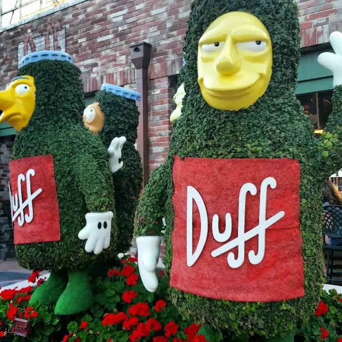 Universal Orlando Resort, Universal Studios, The Simpsons