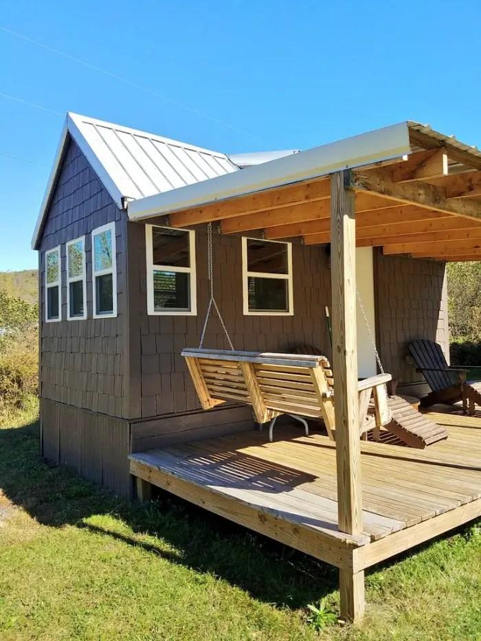 Tiny House, Linville Falls, kia Niro