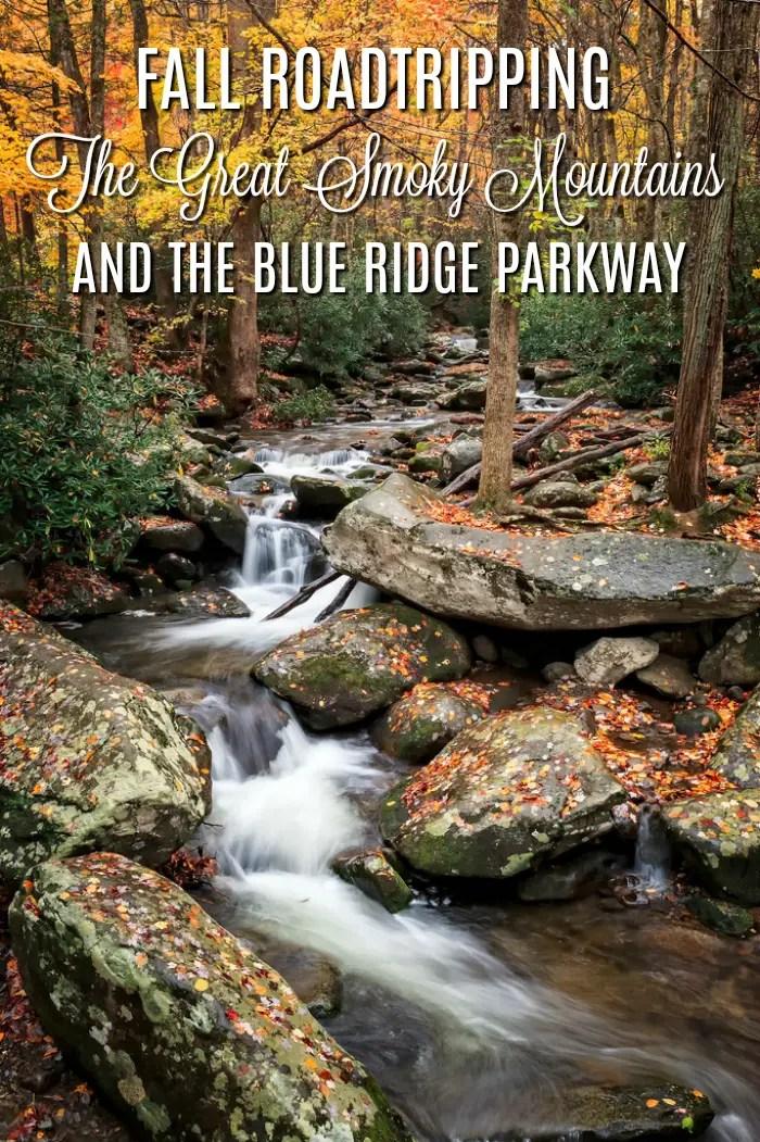 fall road trips USA, Smoky Mountains,