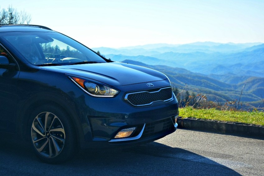 U.S. road trip using an ESTA, Smoky Mountains, kia niro, memorable road trip