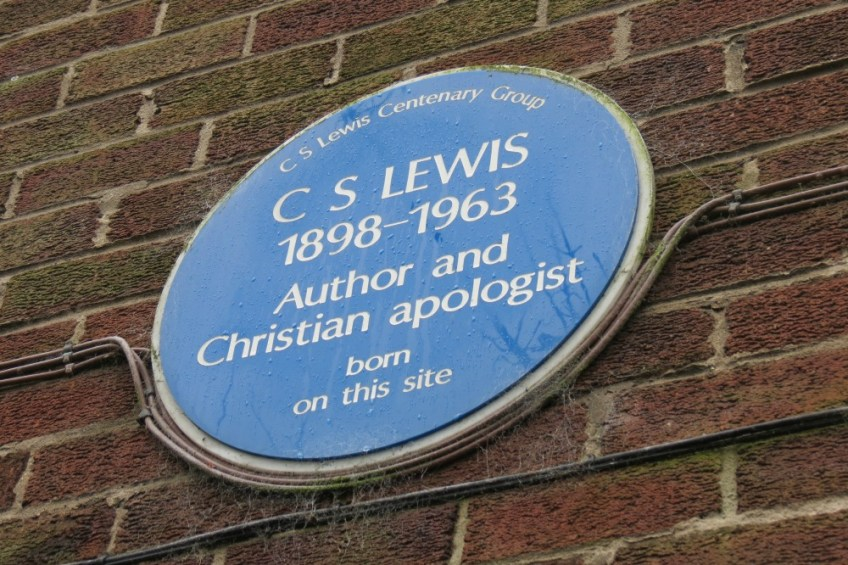 CS Lewis sign