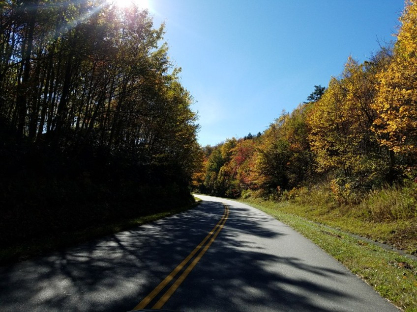 camping on the blue ridge parkway, road trip with kids