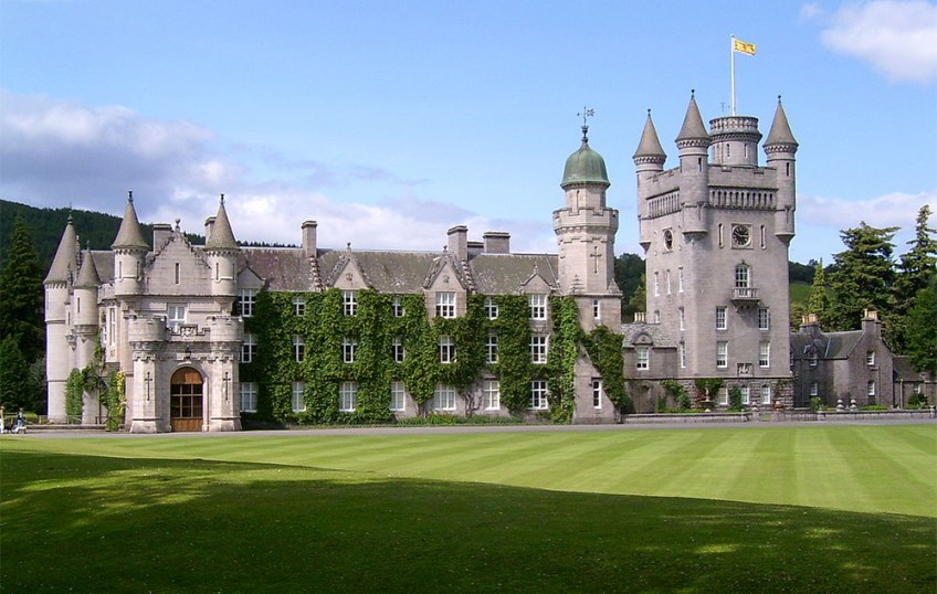 Gothic Castles in the UK, balmoral