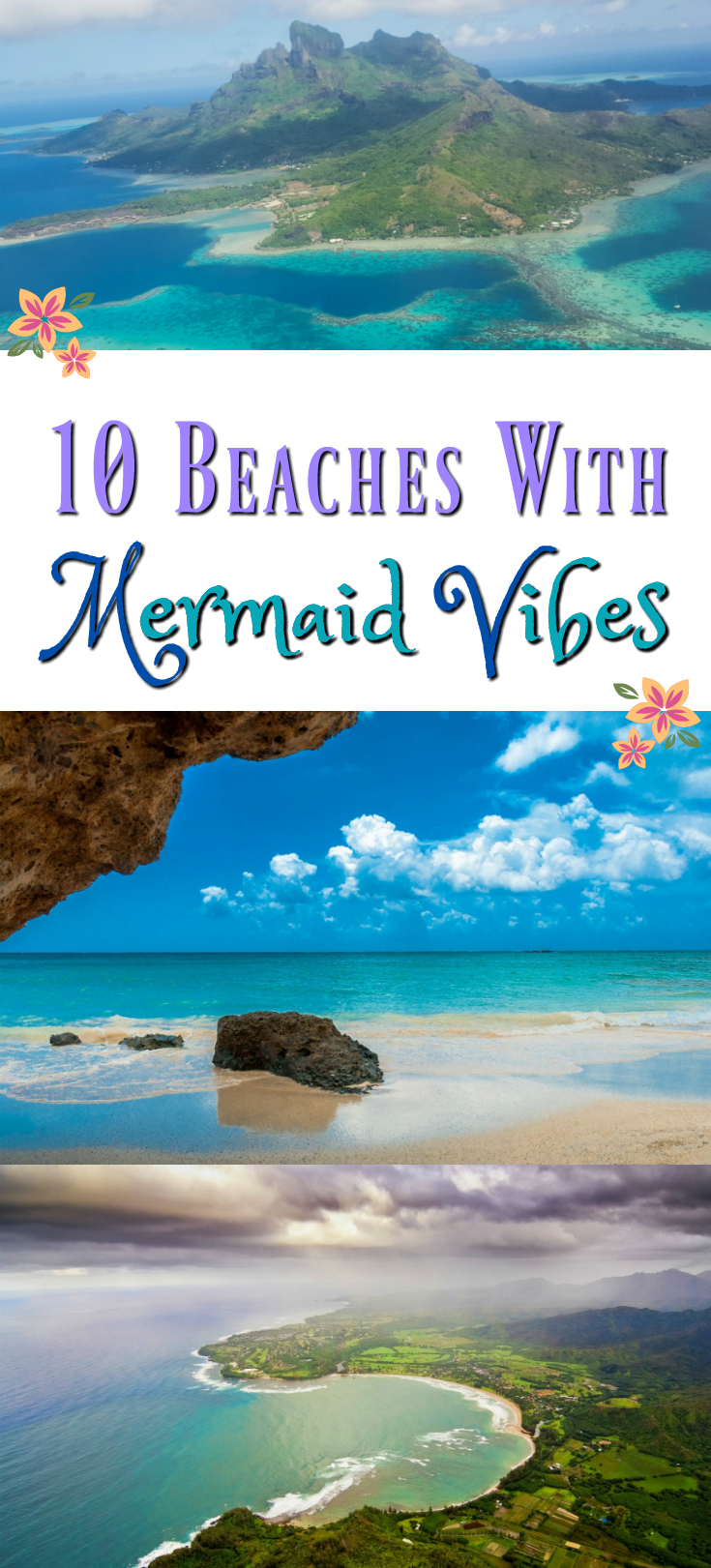 Beautiful beaches around the world mermaid beaches bucket list travel