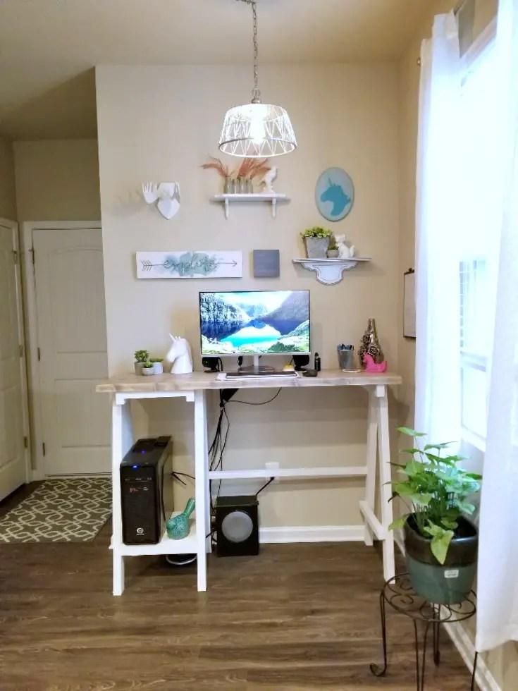 handmade furniture georgia, stand up desk