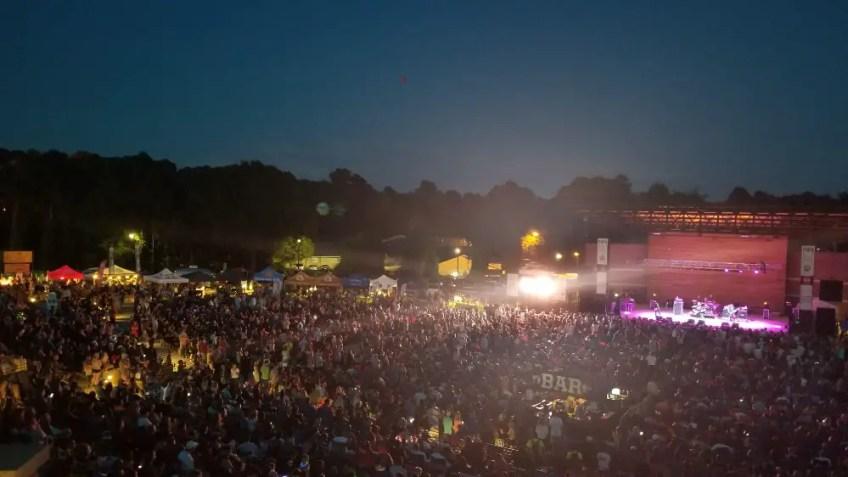 Things to do in Cherokee County, GA, Woodstock, Woodstock concert series