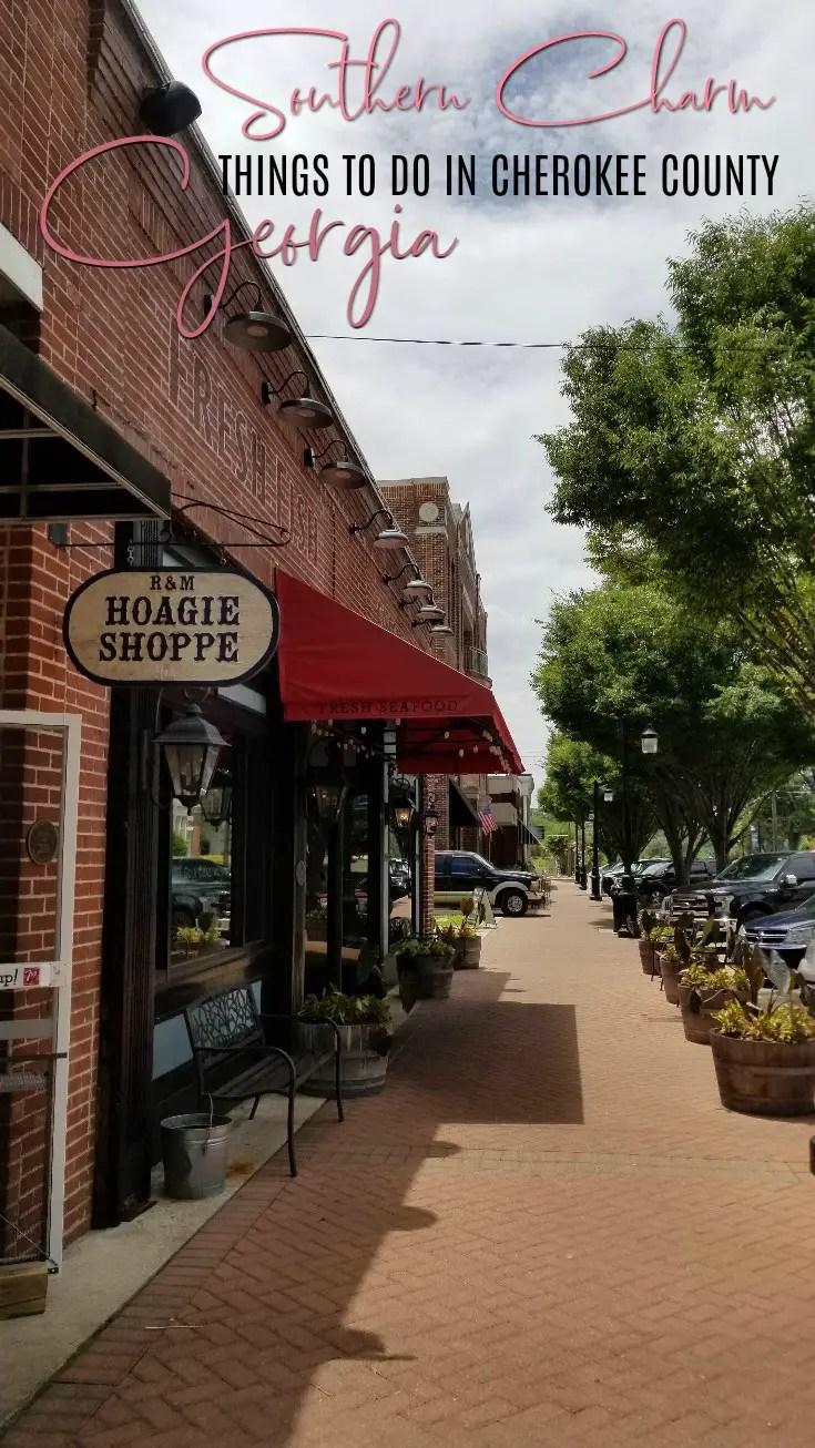 Things to do in Cherokee County Georgia