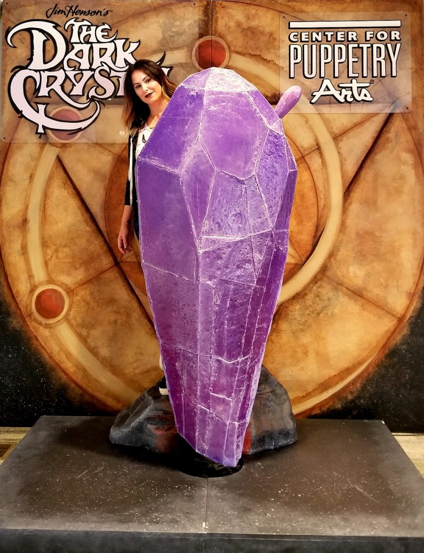 Christa Thompson at The Dark Crystal World of Myth and Magic