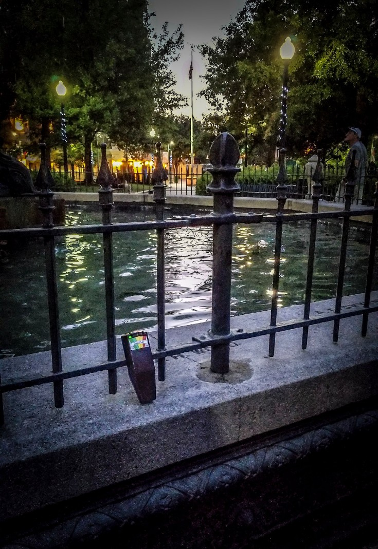 Haunted Places in Memphis, fountain in Memphis