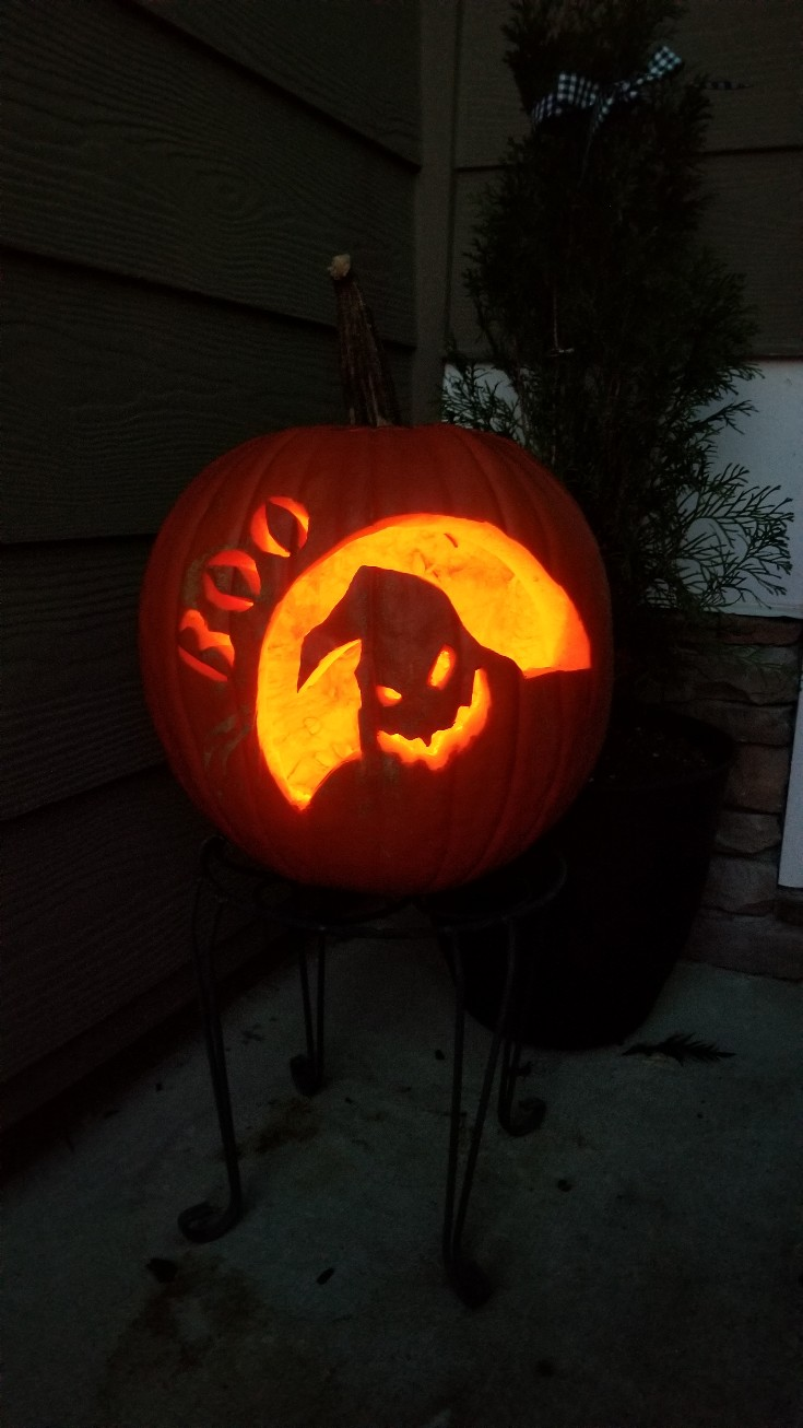 Halloween Favorites, oogie boogie pumpkin