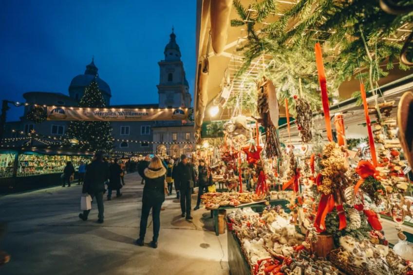 Salzburg Christmas Market Locations