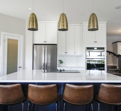 all white kitchens
