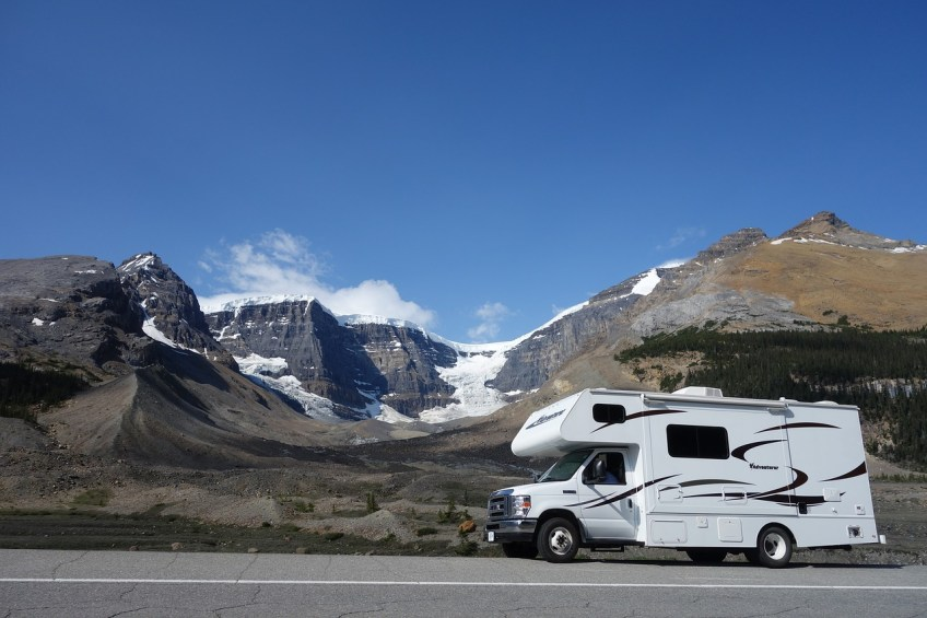 rent an RV, fall vacation ideas for 2020, life in a van