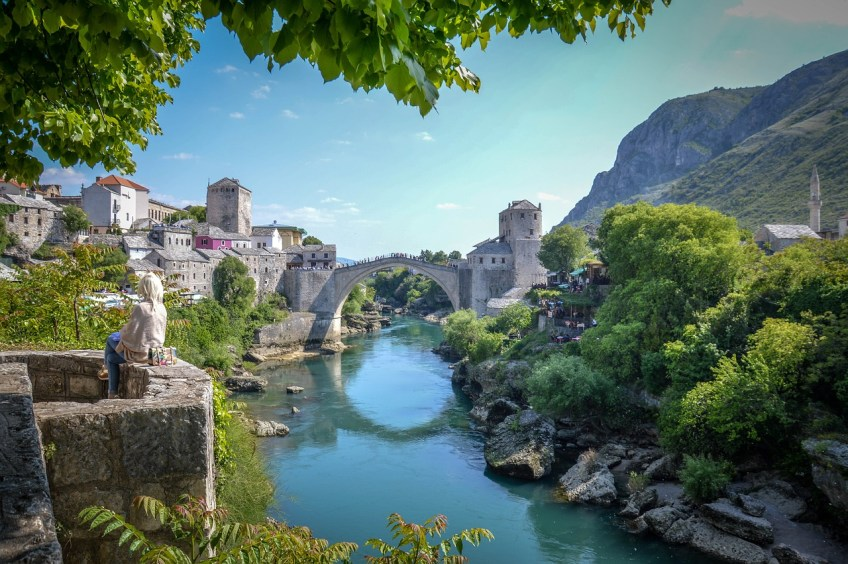 mostar, magical places