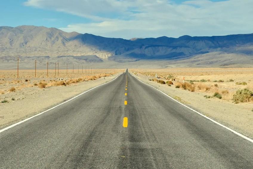 tourist destinations in California, death valley
