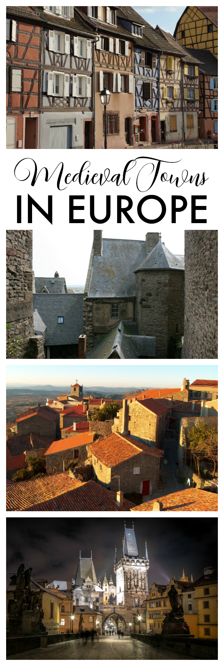 Medieval Towns in Europe