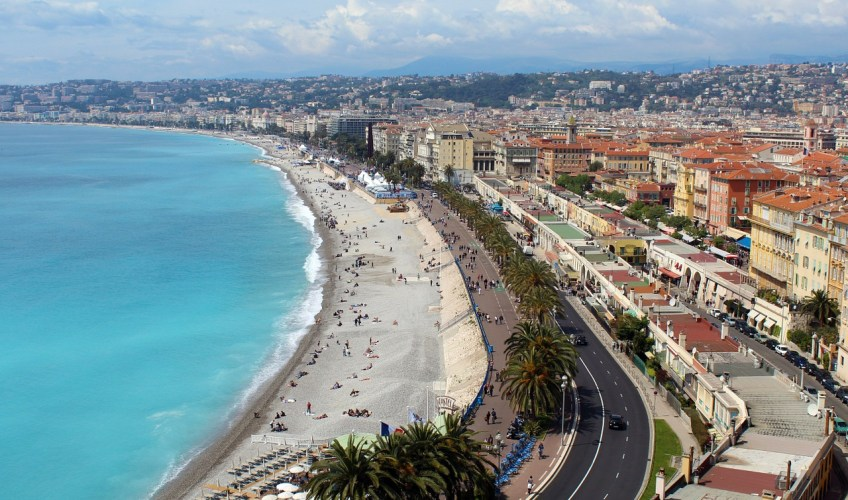 Traveling to Nice France