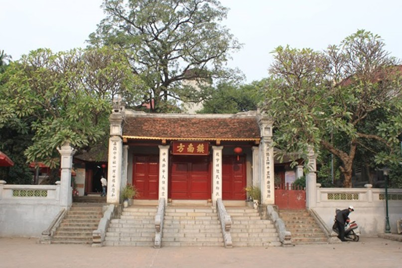 Kim Lien Temple in the South of Hanoi