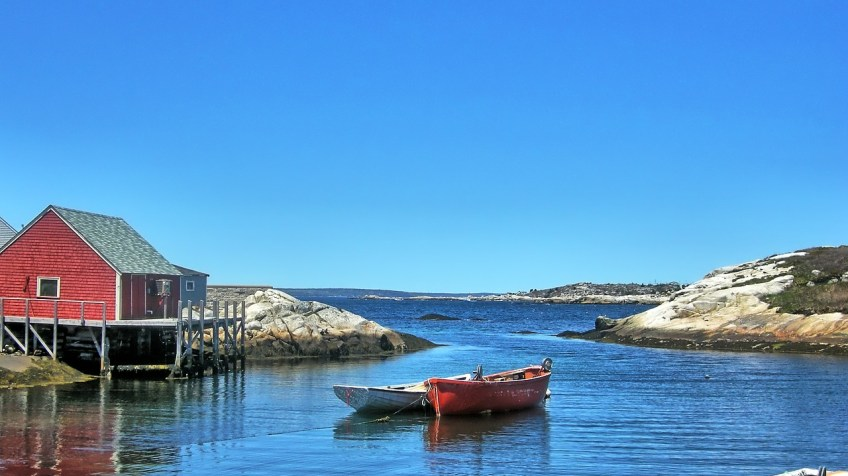 Nova Scotia, Canada, Peggy's Cove