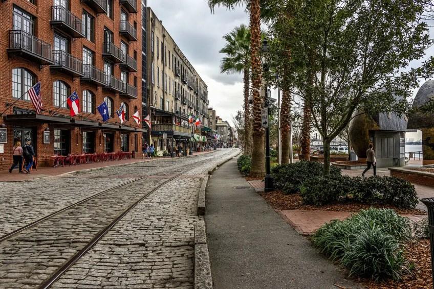 Savannah, Georgia downtown