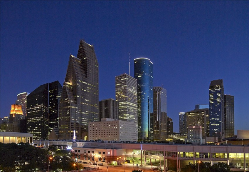 Houston, Texas, skyline
