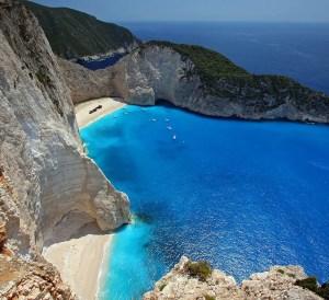 budget friendly beach vacations, Navagio Beach, Greece