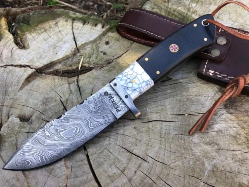 Damascus steel blades