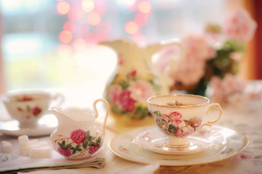 surprise party tips, tea