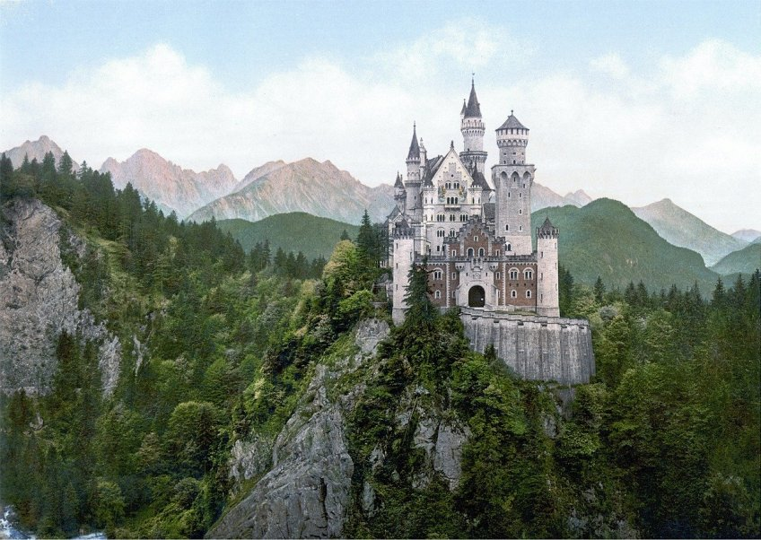 Fairytale Travel Ideas, Neuschwanstein Castle, Cinderella's Castle