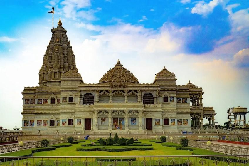 Best Indian Destinations, Vrindavan Indian Temple
