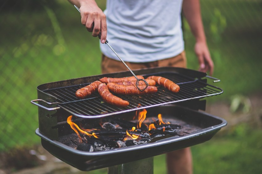 time outdoors this summer, bbq
