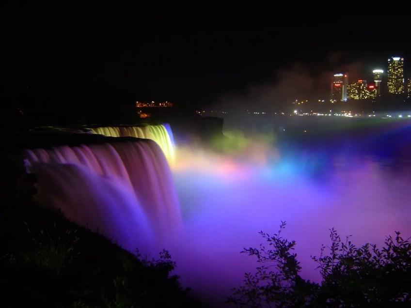 Niagara falls, visiting canada
