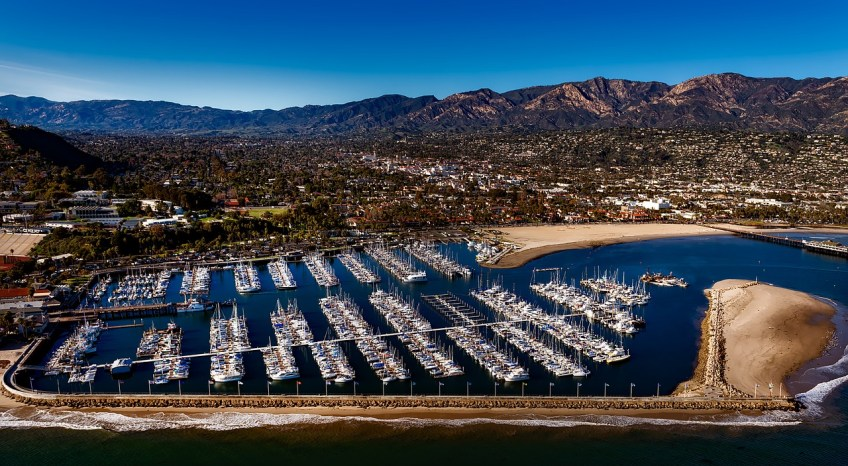 best places to live in California, santa barbara