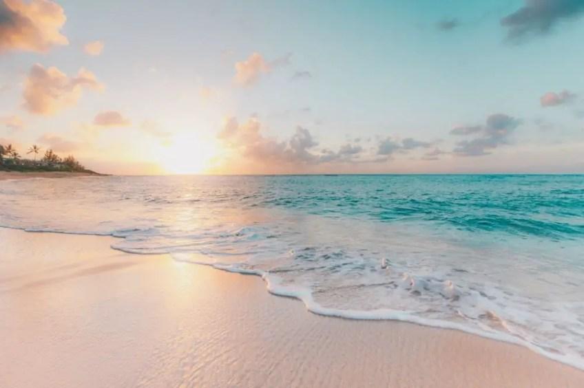 Getting beach body ready, beach, coastline, ocean