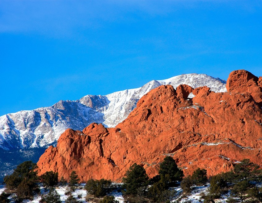 Pikes Peak kissing camels
