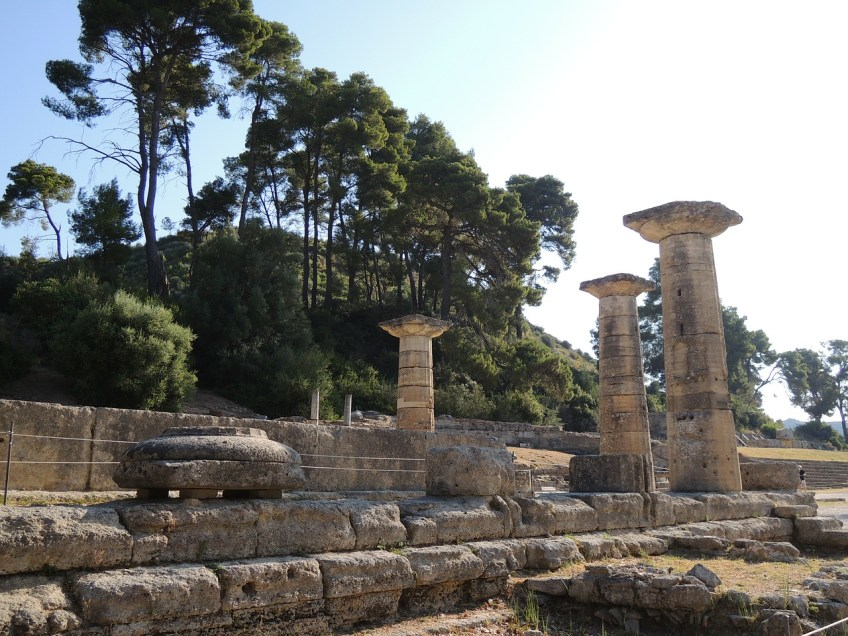 Olympia, Greek ruins