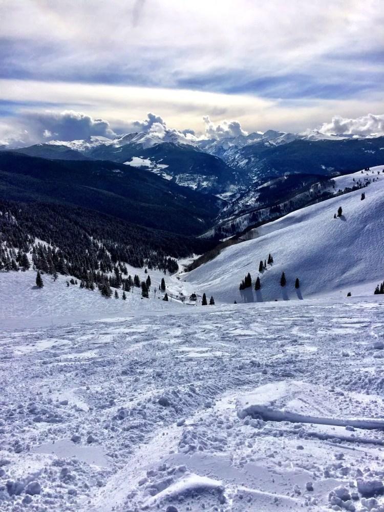 Vail, Colorado, skiing