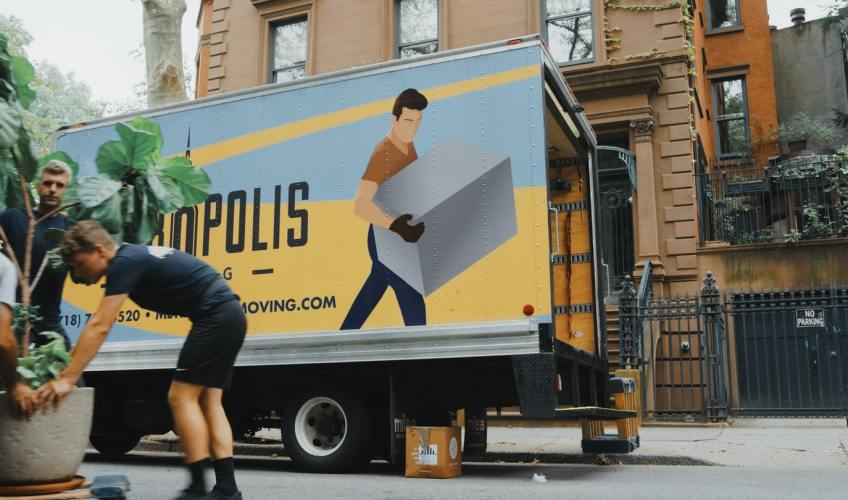 professional movers, moving company