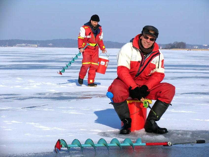 prepare for winter fishing, ice fishing