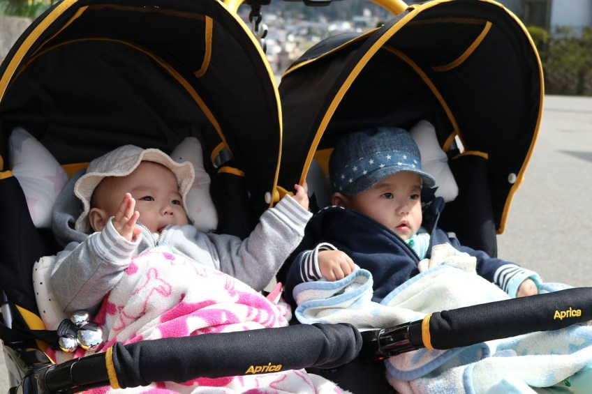 traveling with babies, stroller