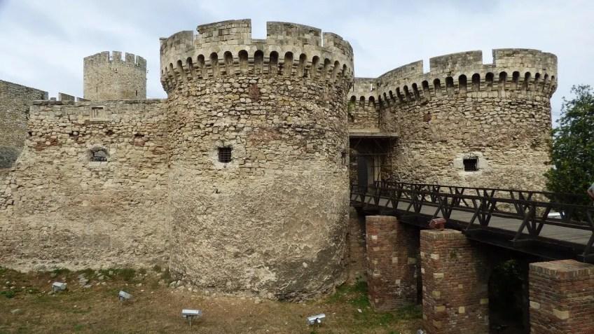 Balkan fairy tale scenery, belgrade, serbia