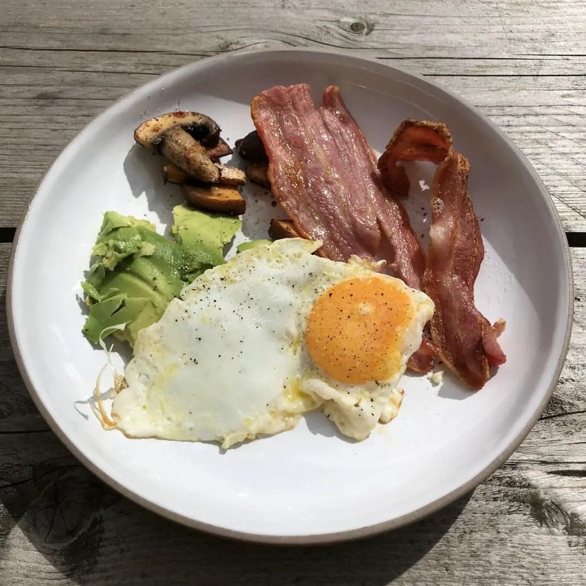 keto road trip meal, keto travel snacks, keto on the road, breakfast
